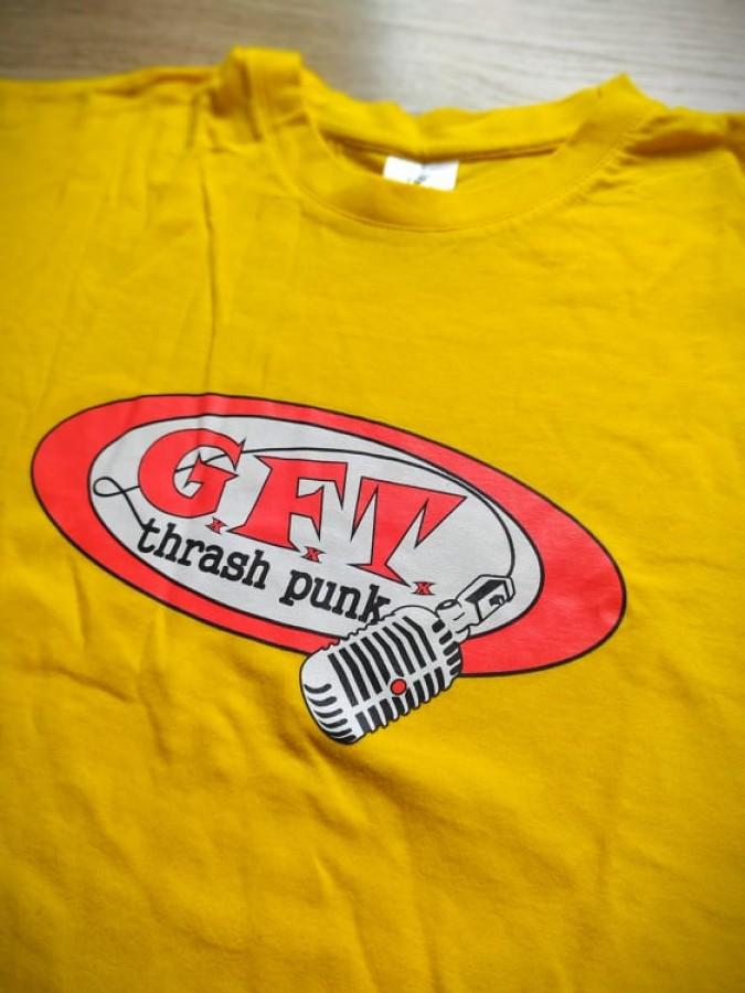 GxFxTx old mic logo t-shirt (yelow)