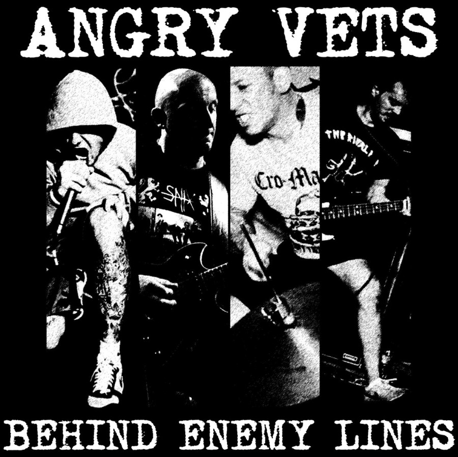 Angry Vets – Behind Enemy Lines / CD
