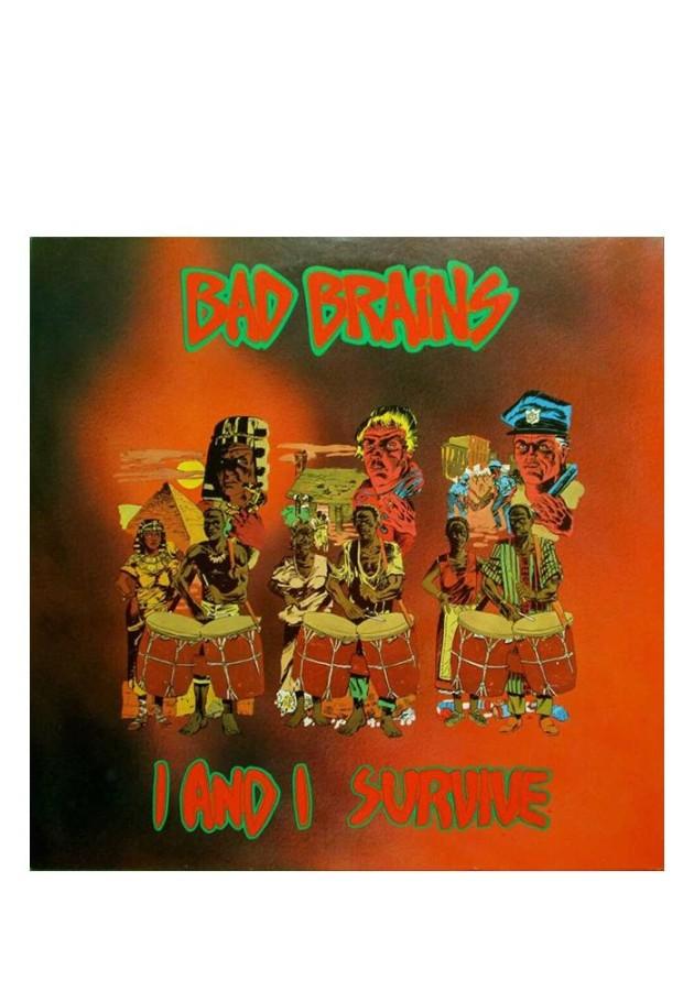 BAD BRAINS I & I Survive / LP