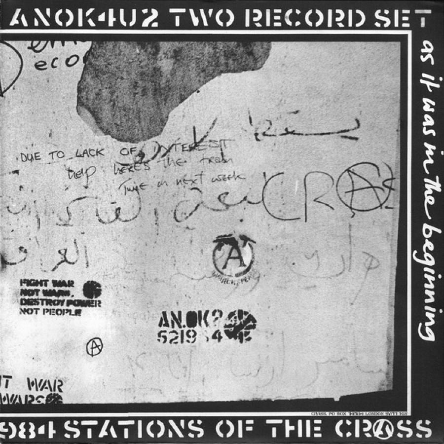 Crass – Stations Of The Crass / 2xLP