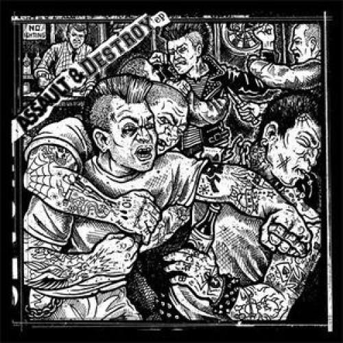 DDC / Assault & Battery  – Assault & Destroy EP / 10'inch