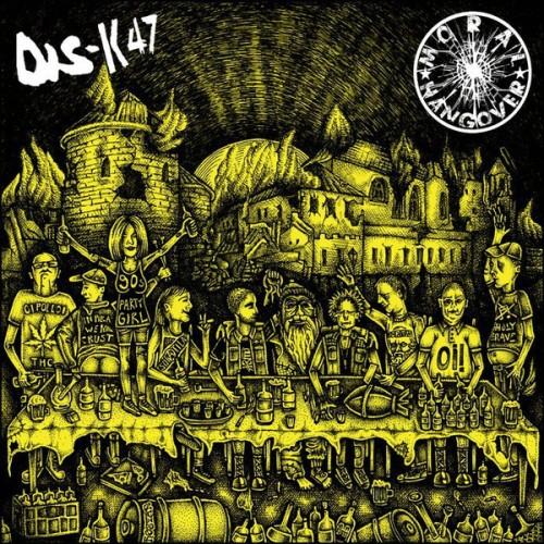 DIS-K47 / Moral Hangover - split LP