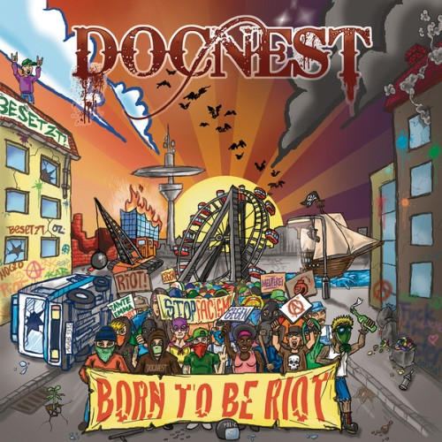 DocNest – Born To Be Riot / LP