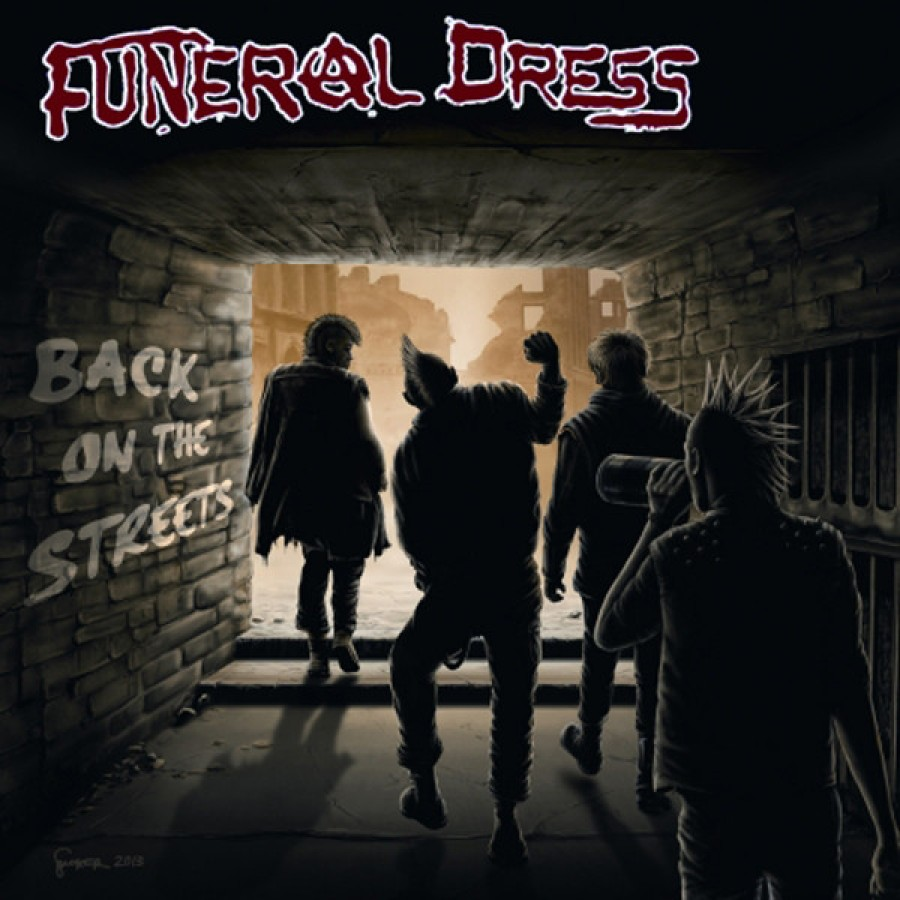 Funeral Dress – Back On The Streets / 7'inch