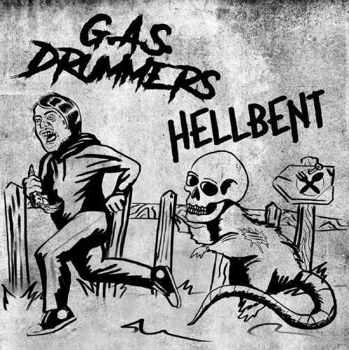 G.A.S. Drummers / Hellbent Split EP / 7'inch