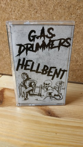 G.A.S. DRUMMERS / HELLBENT SPLIT EP / Tape