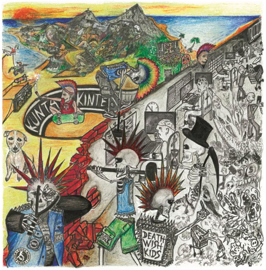 Kunta Kinte / Death Wish Kids split / LP