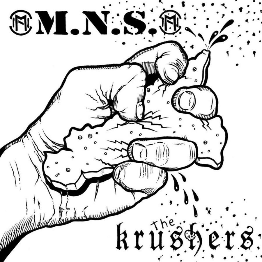 M.N.S. / The KRUSHERS split / EP / 7'inch