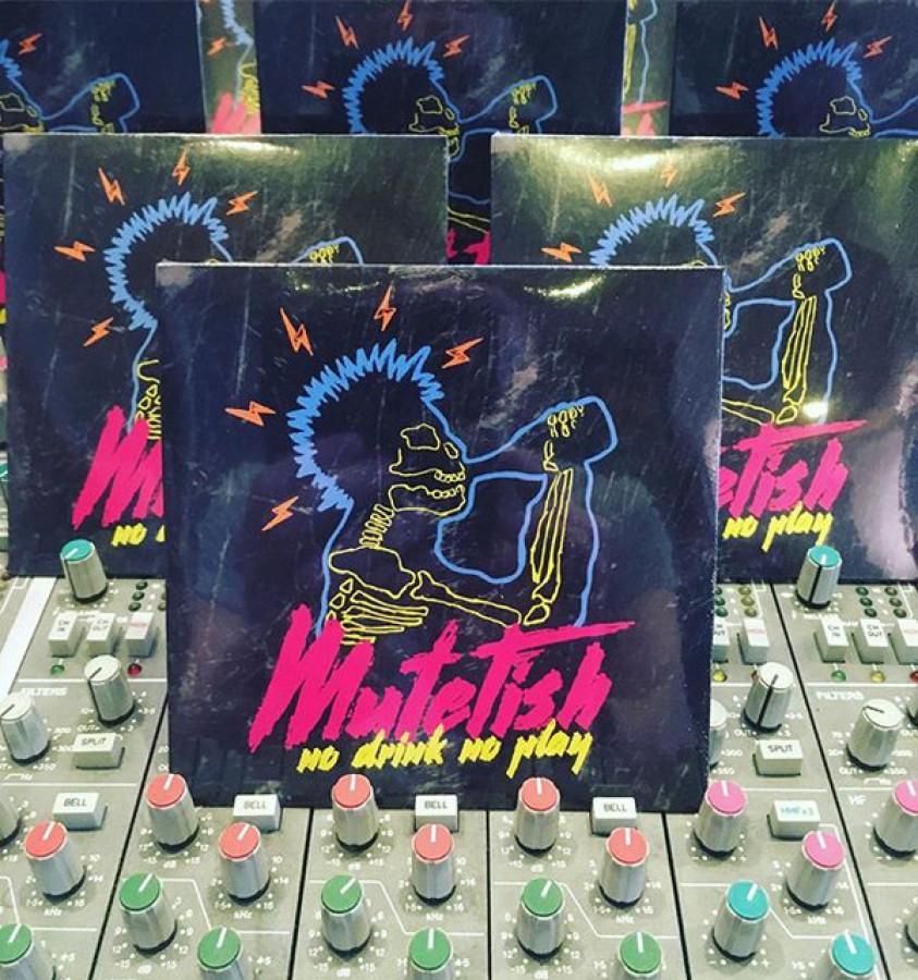 Mutefish – No Drink No Play / CD
