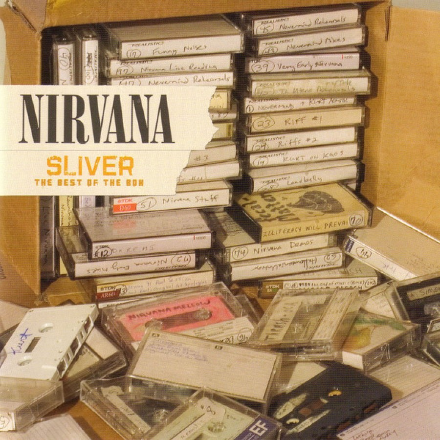 NIRVANA - Silver - Best of With the. / CD