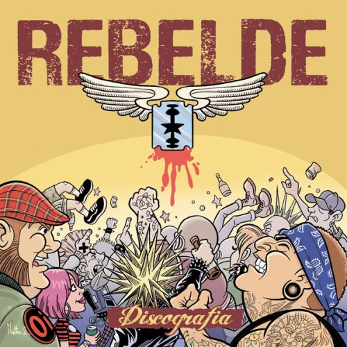 Rebelde – Discografia / 2xCD