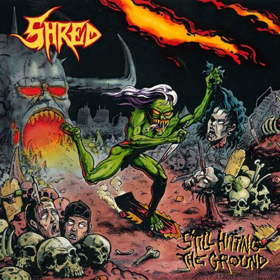 """SHRED """"Still hitting the groung"""" / LP"""