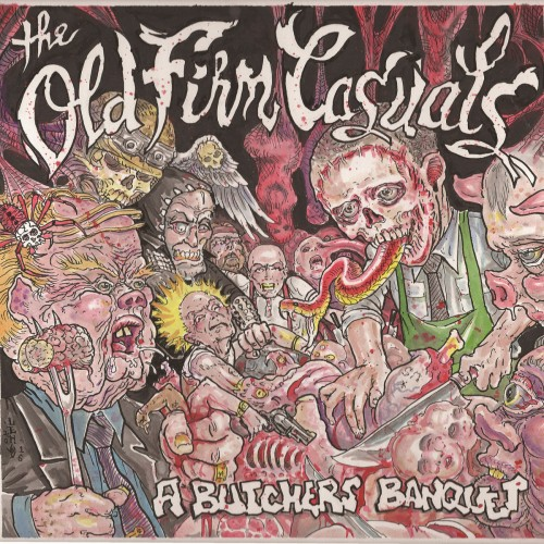 The Old Firm Casuals – A Butchers Banquet / LP