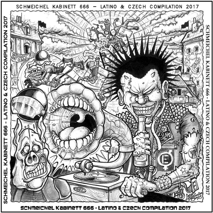 V/A - Schmeichel Kabinett 666 - Latino & Czech Compilation 2017