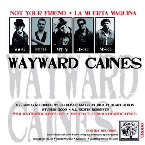 Wayward Caines / Strangers split / 7'inch